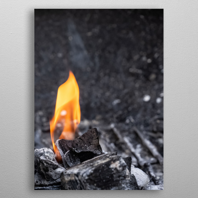 Fire 29 metal poster