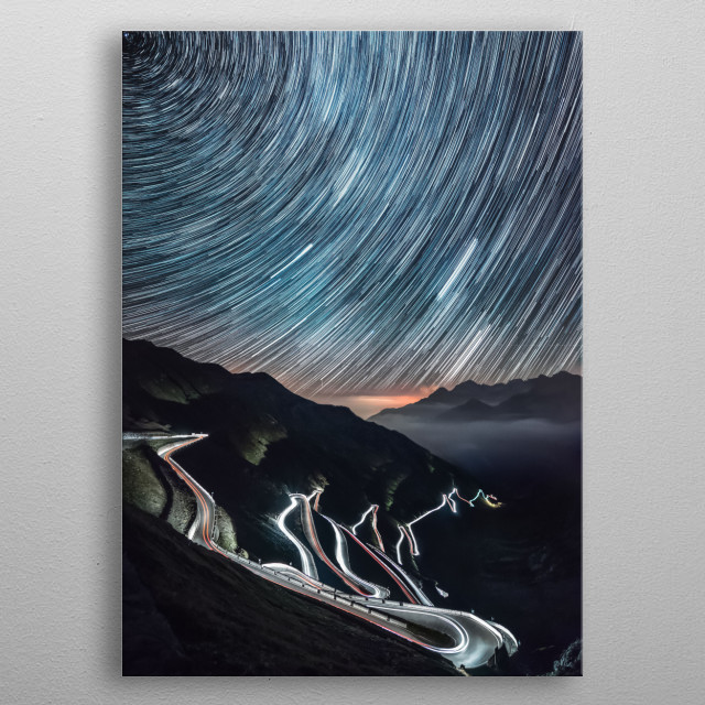 Stars 338 metal poster
