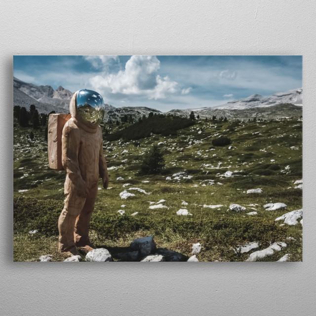 Space 17 metal poster