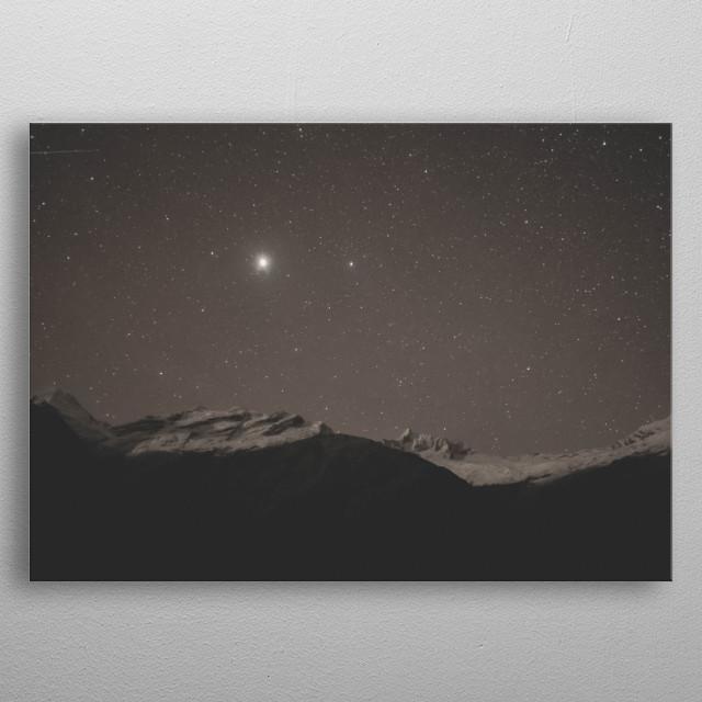 Stars 152 metal poster