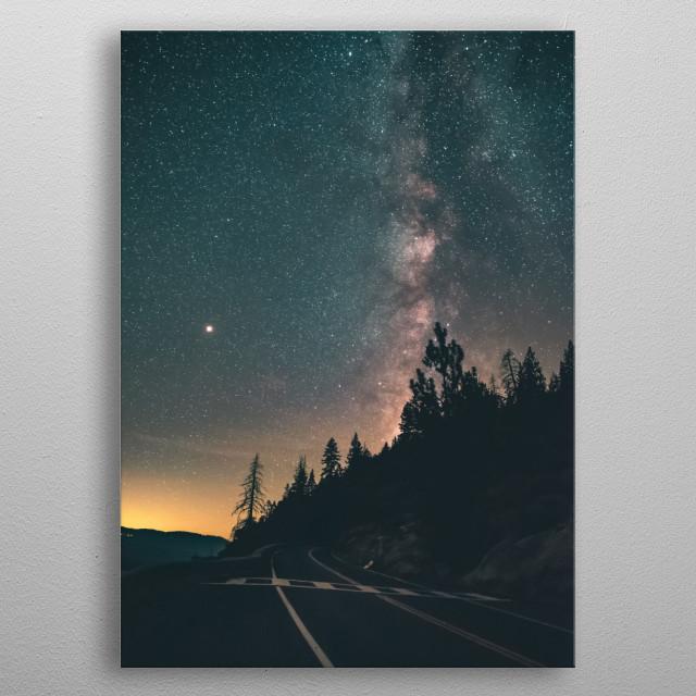 Stars 174 metal poster