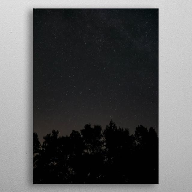 Stars 58 metal poster
