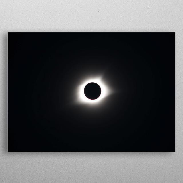 Moon 29 metal poster