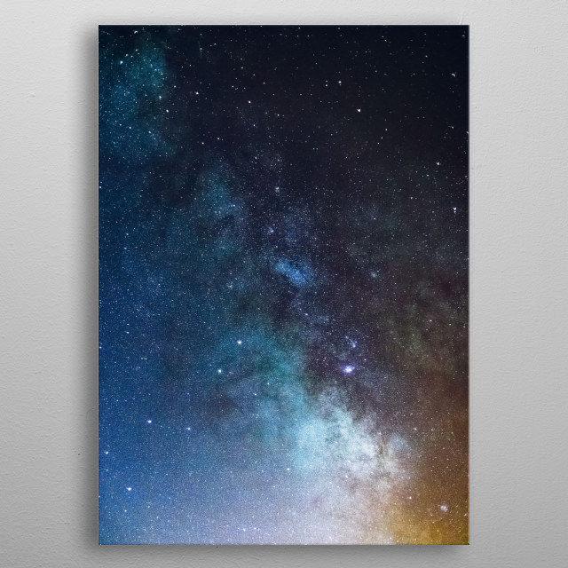 Stars 236 metal poster
