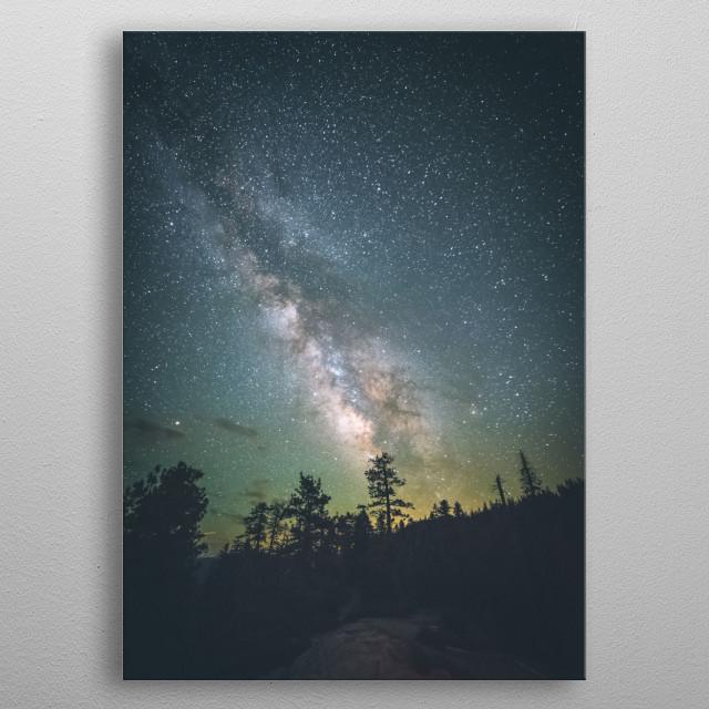 Stars 129 metal poster