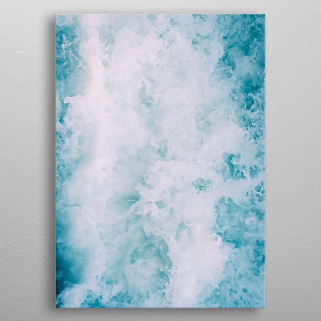 High-quality metal print from amazing Water collection will bring unique style to your space and will show off your personality. metal poster