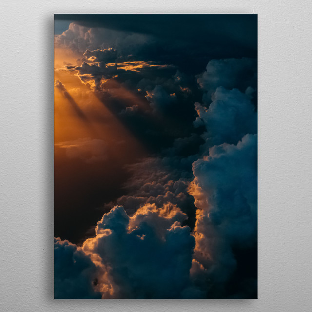 Sun 83 metal poster
