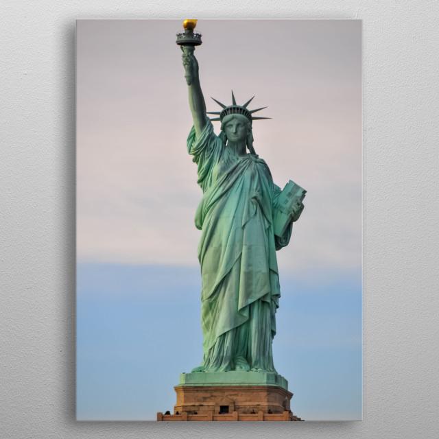 Statue 143 metal poster