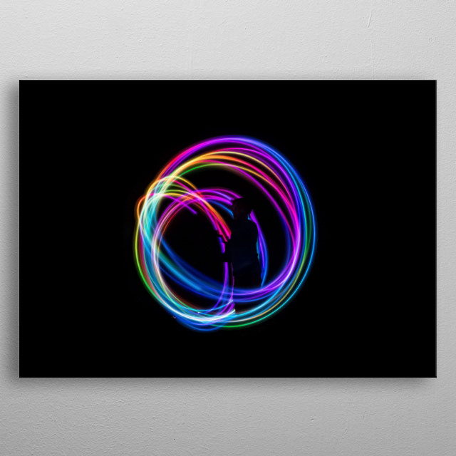 High-quality metal print from amazing Light collection will bring unique style to your space and will show off your personality. metal poster