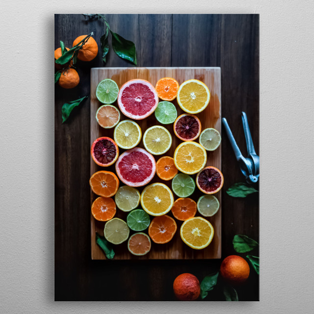 High-quality metal print from amazing Tropical collection will bring unique style to your space and will show off your personality. metal poster