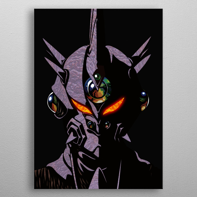 Up close with Guyver 3. metal poster