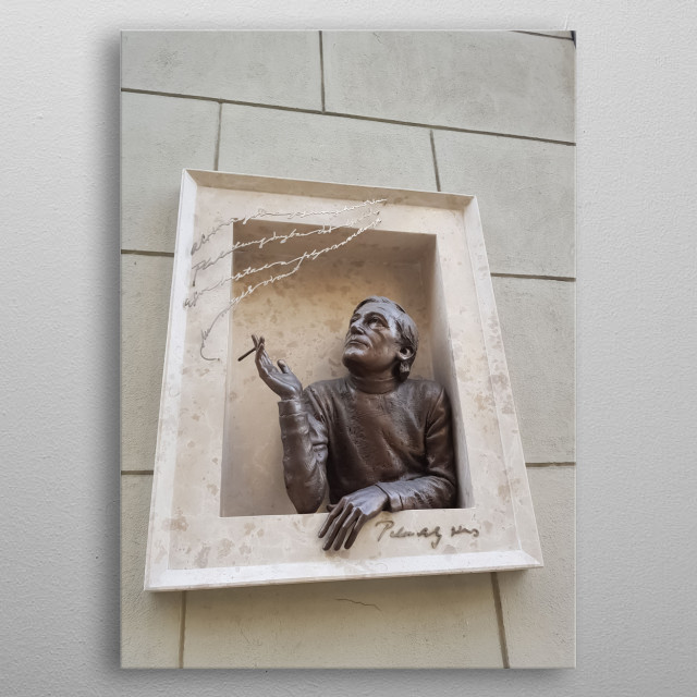 Statue 31 metal poster