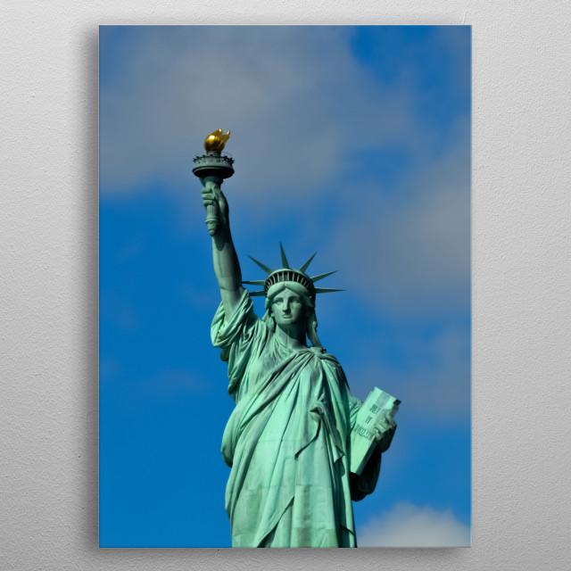 Statue 101 metal poster