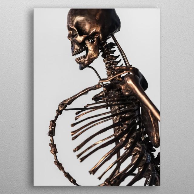 Statue 189 metal poster