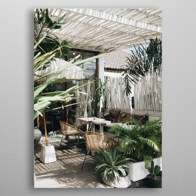 Plants 34 metal poster