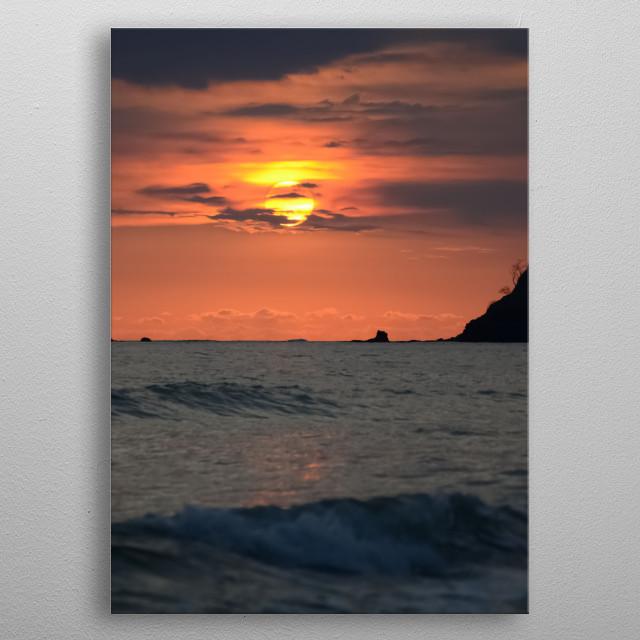 Sun 103 metal poster