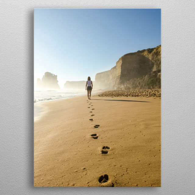 High-quality metal print from amazing Inspirational collection will bring unique style to your space and will show off your personality. metal poster