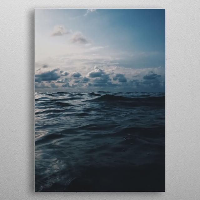 Water 49 metal poster