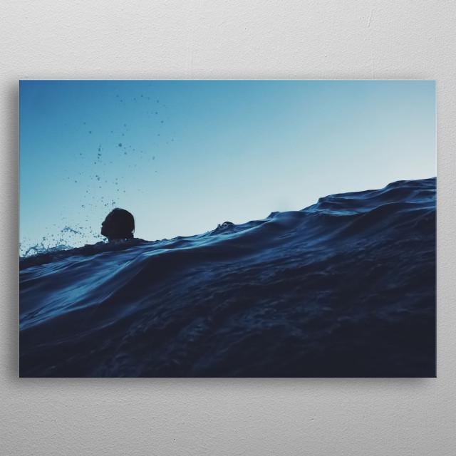 Water 11 metal poster