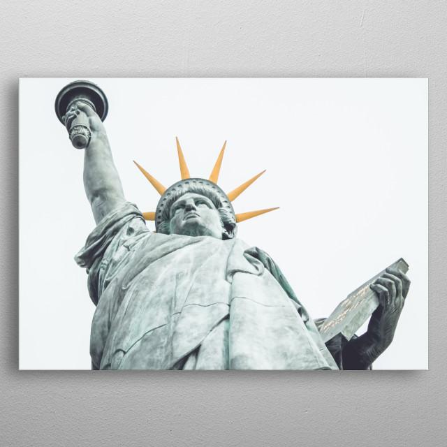 Statue 59 metal poster