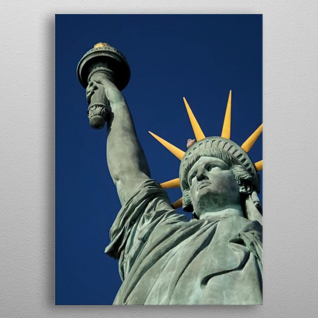 Statue 36 metal poster