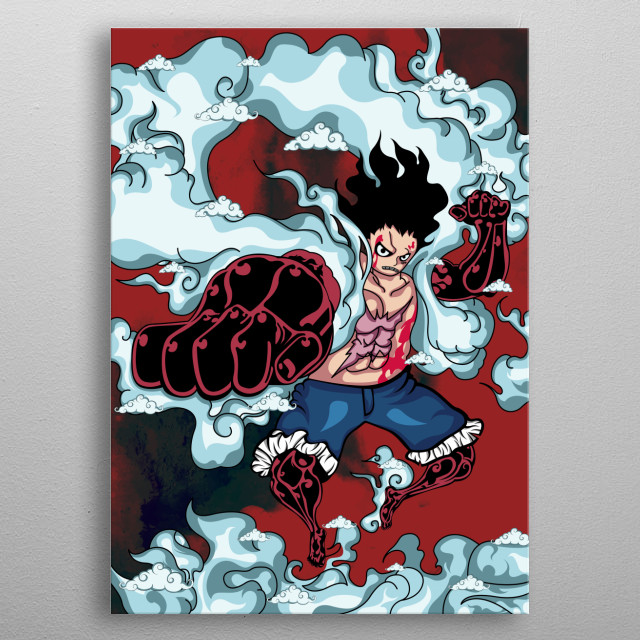 One Piece parts metal poster