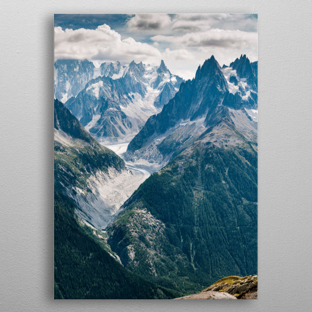 Within the Mountains metal poster