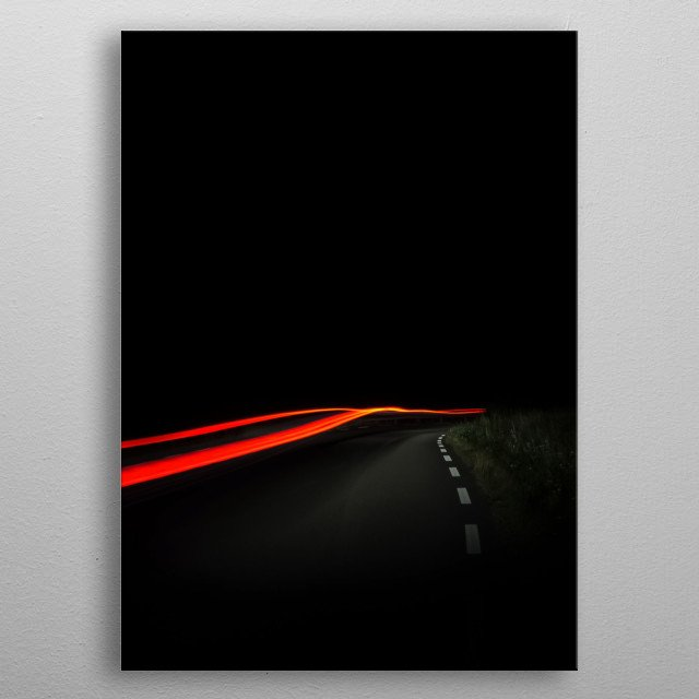 Fascinating metal poster designed by Jenny B. Displate has a unique signature and hologram on the back to add authenticity to each design. metal poster