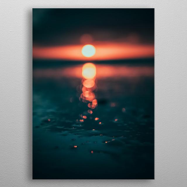 Sun 60 metal poster