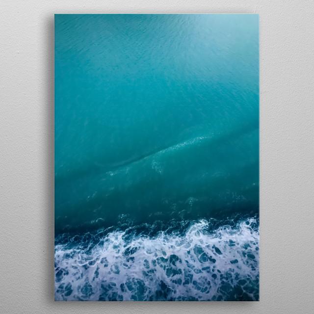 Water 6 metal poster