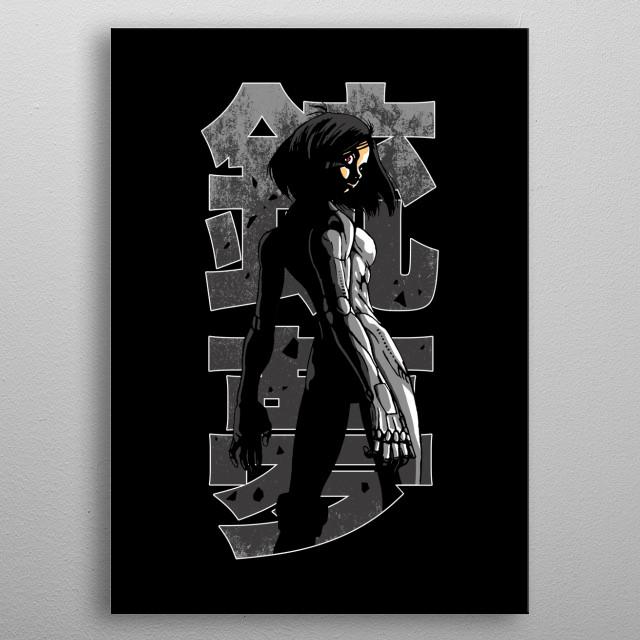 Anime version metal poster