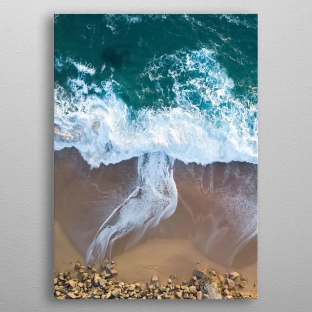 Water 5 metal poster