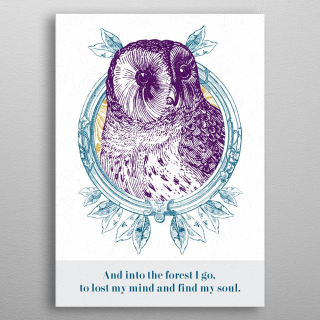 The Nature Wisdom is amazing!  @harbinharrison metal poster