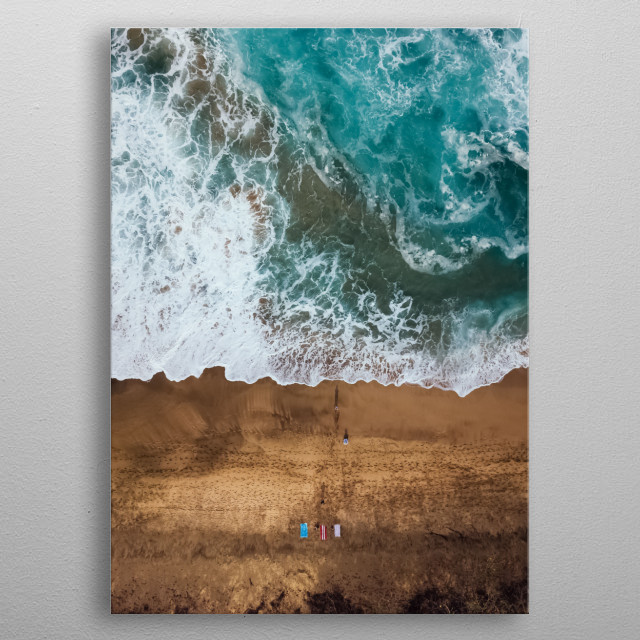 Water 281 metal poster
