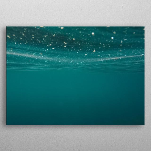 Water 224 metal poster