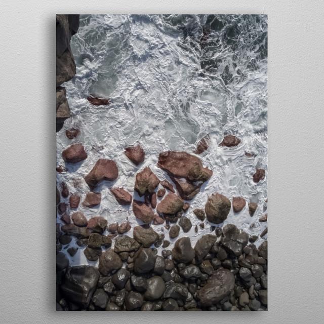 Water 283 metal poster