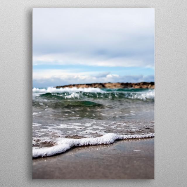 Water 158 metal poster
