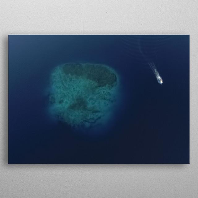 Water 178 metal poster