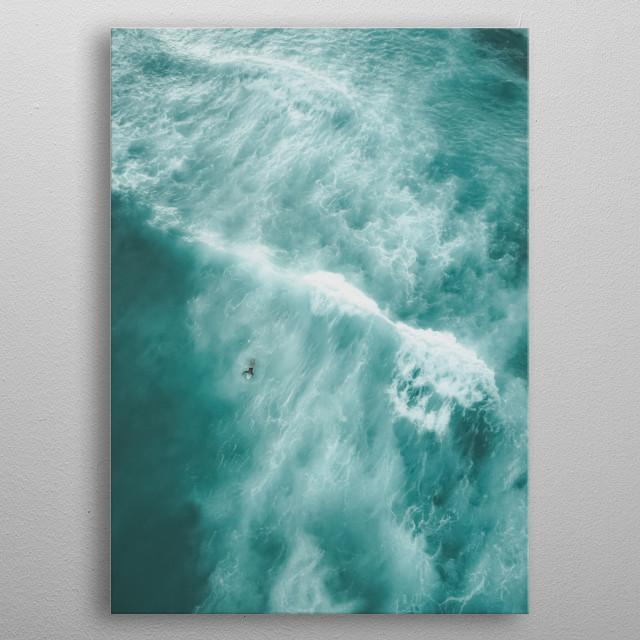 Water 286 metal poster