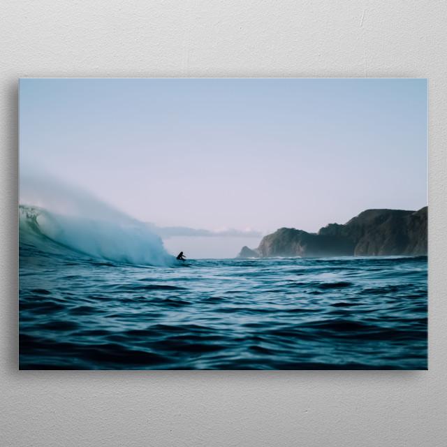 Water 291 metal poster