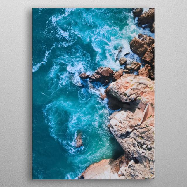 Water 207 metal poster