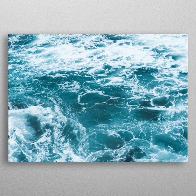 Water 156 metal poster