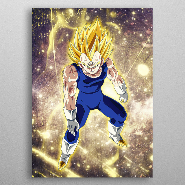 Inspired from DBZ series. metal poster