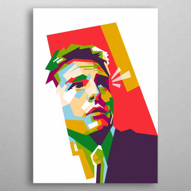 Thomas cruise is an American actor and producer. Tom cruise in wpap illustration metal poster