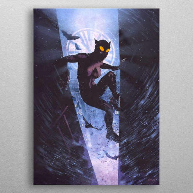 High-quality metal print from amazing Classic Heroes Posters collection will bring unique style to your space and will show off your personality. metal poster