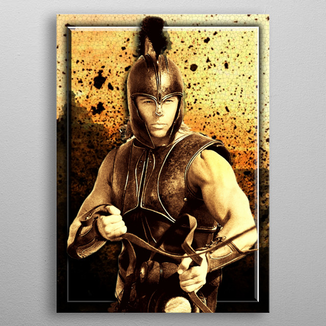 greatest warrior ever lived metal poster