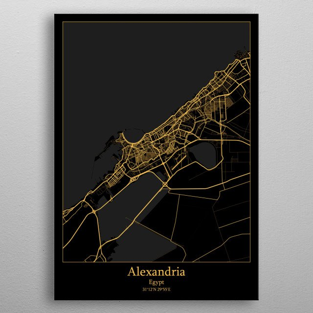 High-quality metal wall art meticulously designed by iwoko would bring extraordinary style to your room. Hang it & enjoy. metal poster