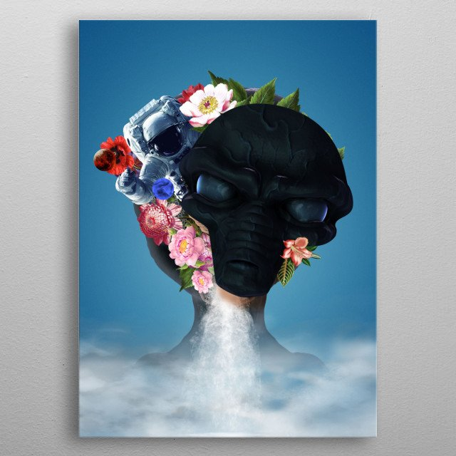 We have discovered something sweet out there! metal poster