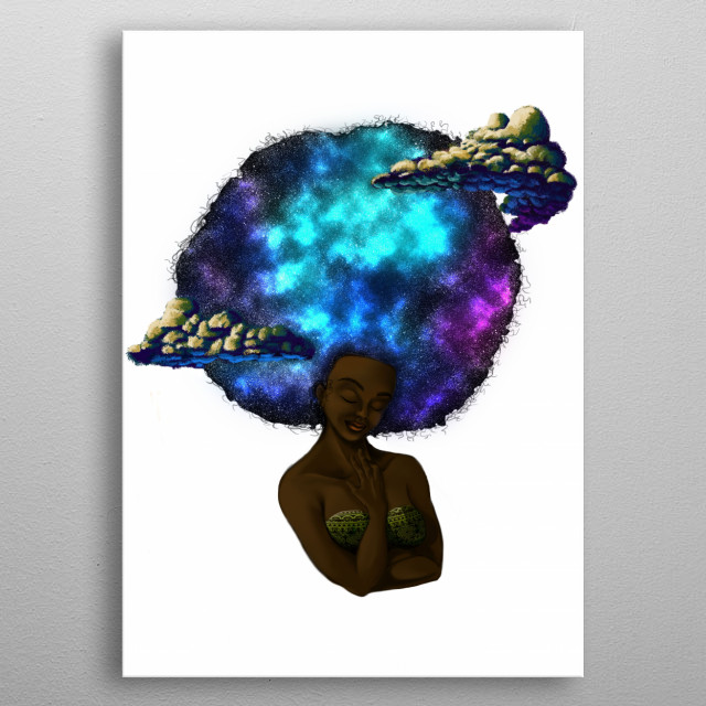 Digitally Painted Piece, prodominantly photoshop based. If you want to keep up with my art, go to , thanks! metal poster