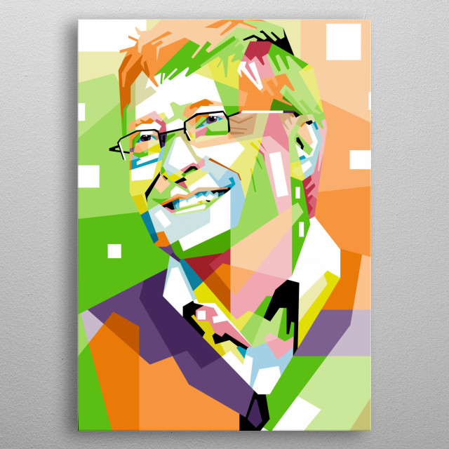 William Henry Gates III KBE DFBCS is an American business magnate, investor, author, philanthropist, and humanitarian. He is best known as t metal poster